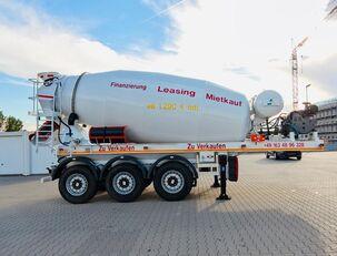 خلاطة الخرسانة SCHWARZMÜLLER TTC-Fulda Betonmischer Auflieger mit Motor  NEU