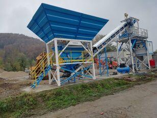 جديد ماكينة صناعة الخرسانة PROMAX Compact Concrete Batching Plant C60-SNG-PLUS (60m3/h)