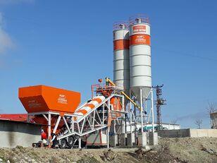 جديد ماكينة صناعة الخرسانة Plusmix 100 m³/hour Mobile Concrete Batching Plant - BETONYY ZAVOD - CEN