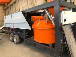 جديد ماكينة صناعة الخرسانة Plusmix MT30 : 30 m³/ hour MINI MOBILE Concrete Plant