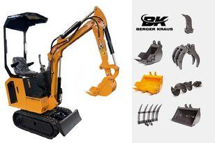 جديد حفارة صغيرة BERGER KRAUS Mini Excavator BK800B with FULL equipment